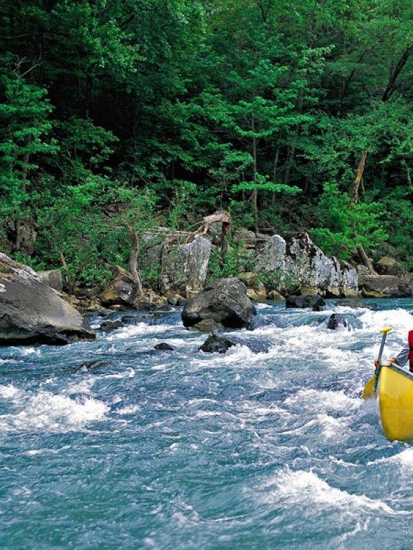 River floats near Fayetteville