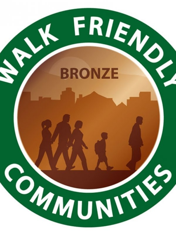 Fayetteville Receives Walk Friendly Designation