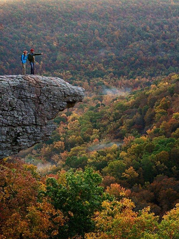 Fall Foliage in Fayetteville