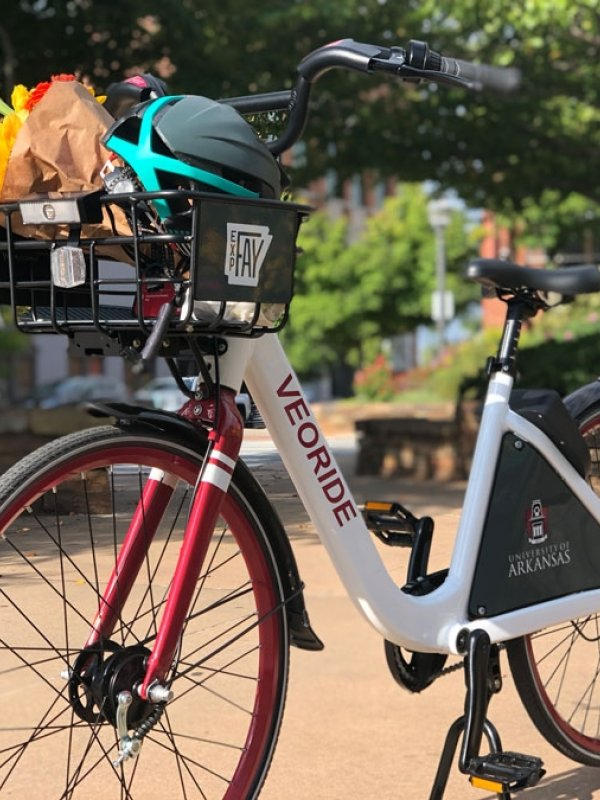 Explore Fayetteville with VeoRide Bikeshare