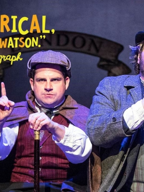 The Hound of the Baskervilles at TheatreSquared