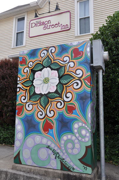 Mural on Utility Box