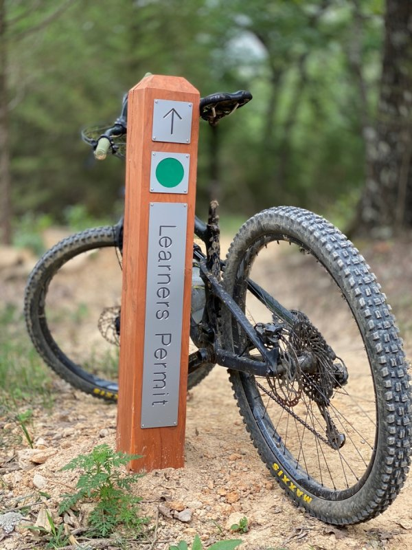 First Mountain Bike Trails Open at Centennial Park at Millsap Mountain