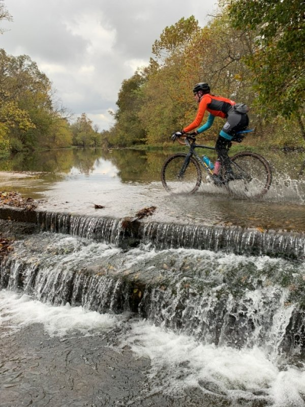Gravel Cyclists Find Adventure from Fayetteville