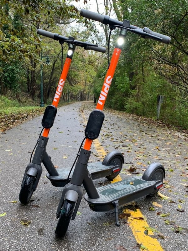 Fayetteville Launches Dockless E-Scooters