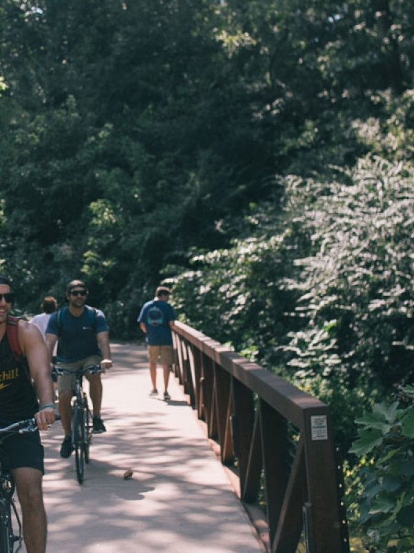 A Fayetteville-Style Day on the Razorback Greenway