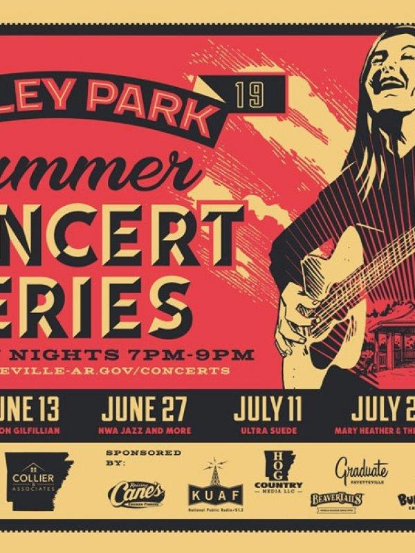 Gulley Park Summer Concert Series 2019