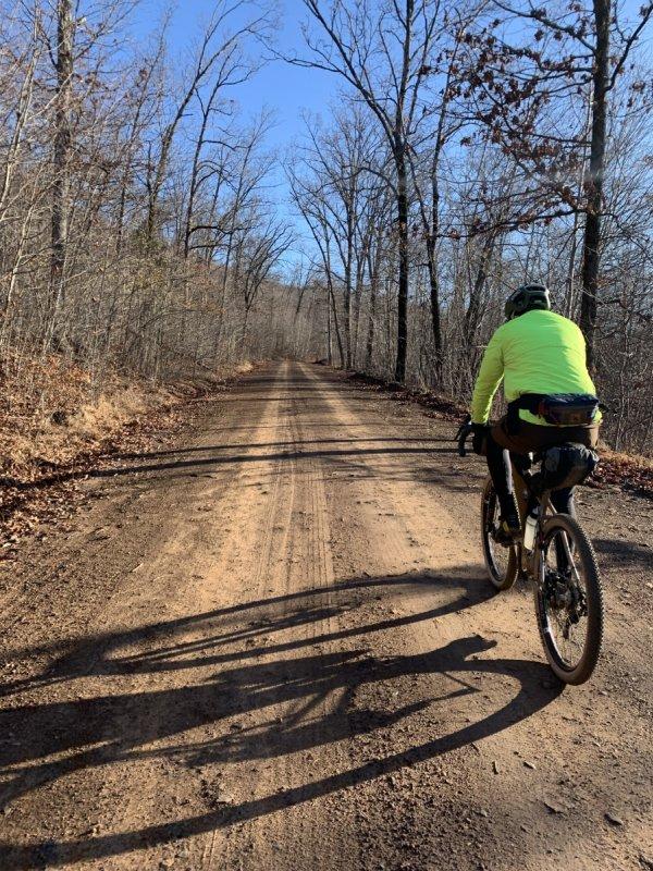 Gravel Riding - Fayetteville's Dirty Little Secret