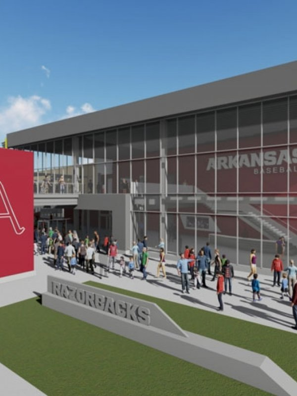 New Sports Facilities at the University of Arkansas